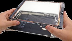 смена экрана, разбор и ремонт планшета в Тюмени недорого
